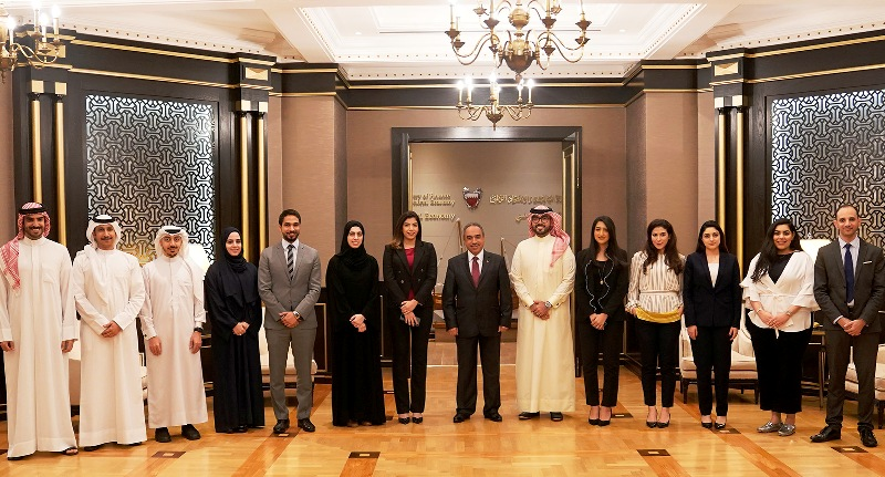 MINISTER OF WORKS MEETS THE FOURTH INTAKE OF THE OFDPM FELLOWSHIP