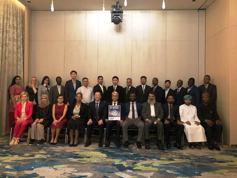 Works Affairs participated in a Conference of the Partnership between Public and Private Sectors for Infrastructure Projects in Singapore
