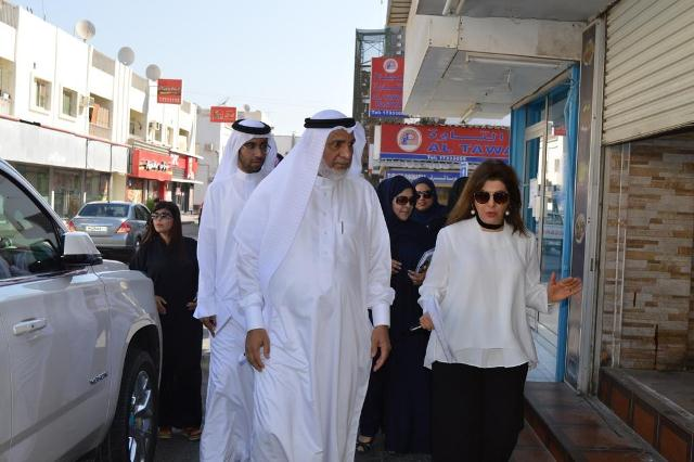FAKHRO AND AL SINAN INSPECT MUHARRAQ'S 2ND CONSTITUENCY