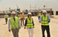 FAKHRO INSPECTS WORK PROGRESS IN THE SECOND INTERCHANGE ALONG SH. KHALIFA BIN SALMAN HIGHWAY